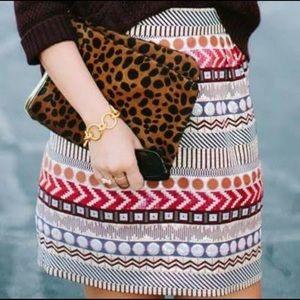 Anthropologie Glistened Geo Skirt by Nomad 4